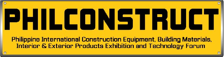 PHILCONSTRUCT - Philippines's biggest international construction exhibition.